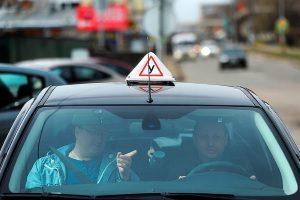 Сдача практики вождения в городе