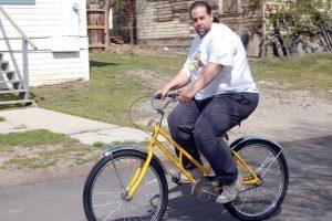 Велосипед для полных