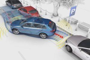 Как парковать авто задом?