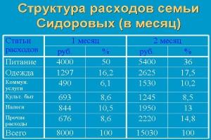Книга доходов и расходов