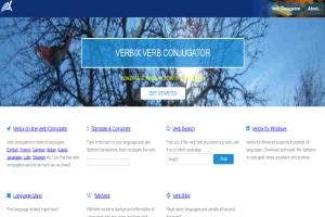 Сайт Verbix