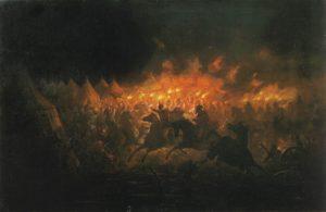 Битва с факелами