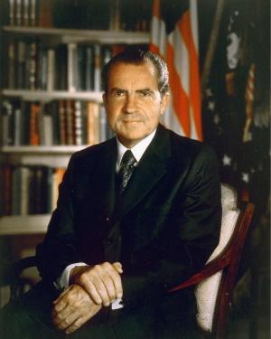 Ричард Никсон - президент