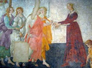 Фреска Боттичели