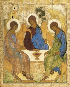 Троица Рублева