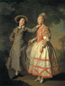 Портрет Хрущевой и Хованской
