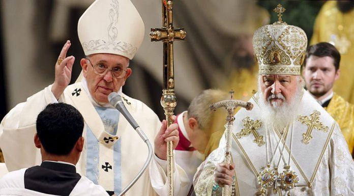 Разделение христианства на католичество и православие