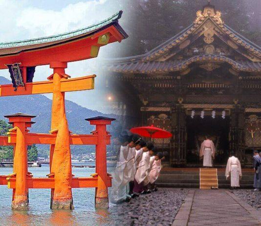 Распространенные религии Японии