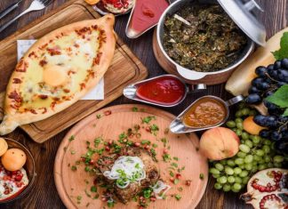 Грузинская кухня: национальные блюда