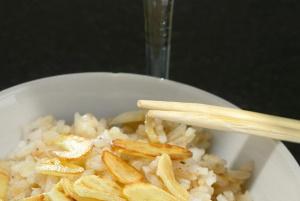 Рис с сыром и мускатным орехом
