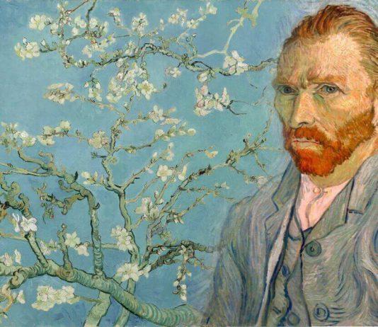 Ван Гог Ветка цветущего миндаля